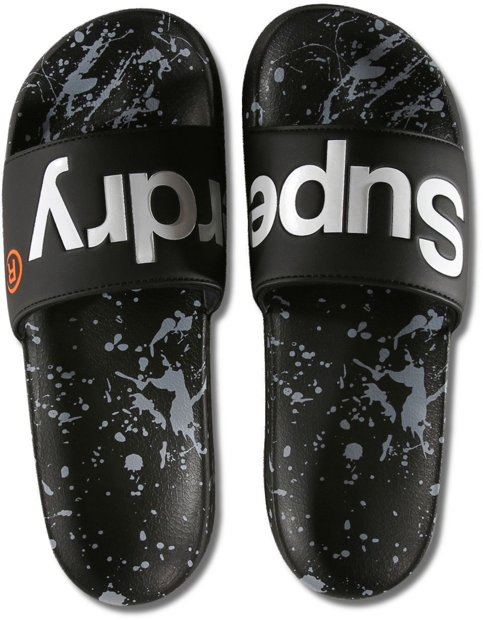 Superdry Beach Sliders Black