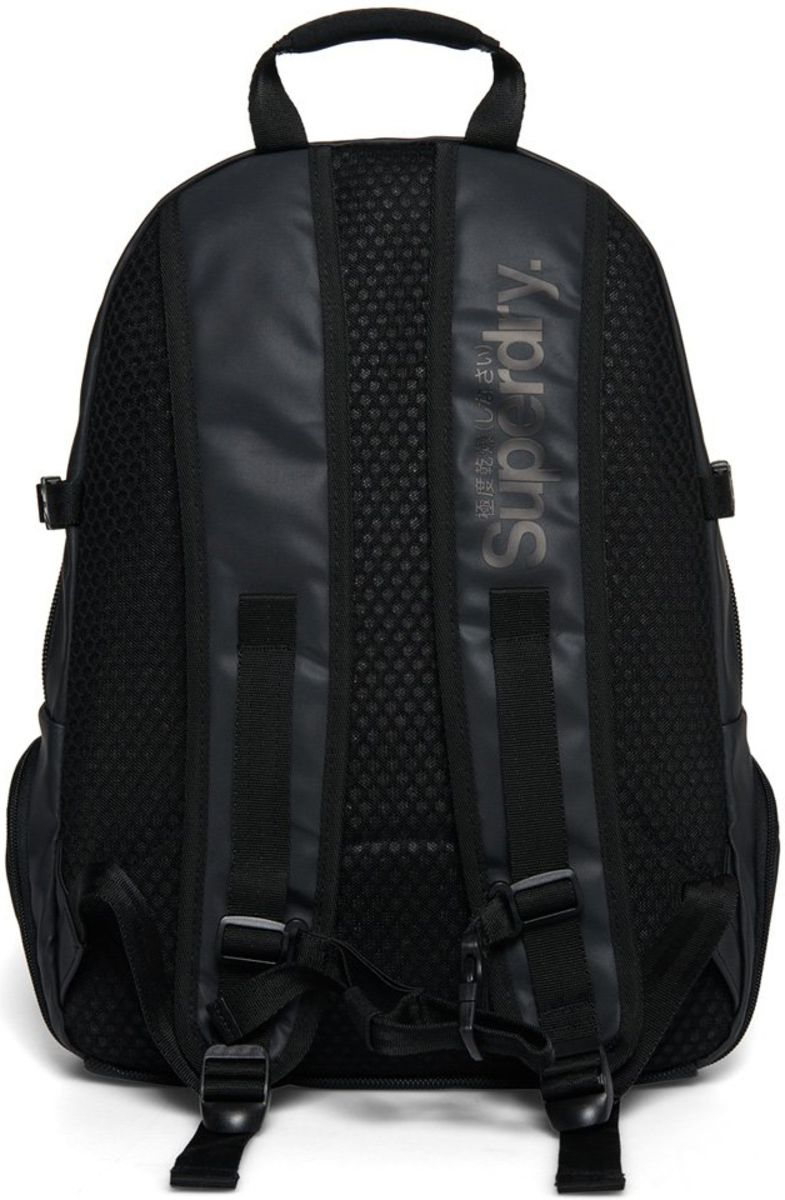 Superdry Camo Fade Tarp Backpack Bag Black