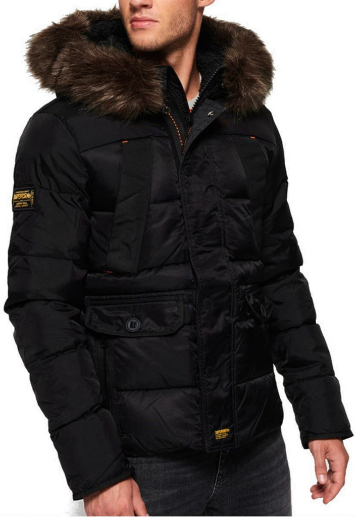 Superdry Chinook Hooded Puffer Jacket