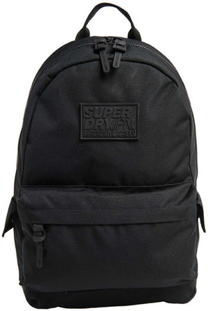 Superdry Classic Montana Backpack Bag Black