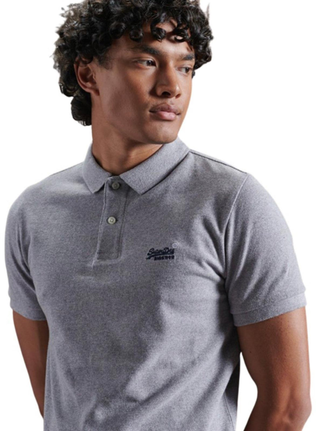 Superdry Classic Pique Polo Shirt	Coastal Pink