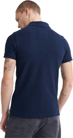 Superdry Classic Pique Polo Shirt Navy
