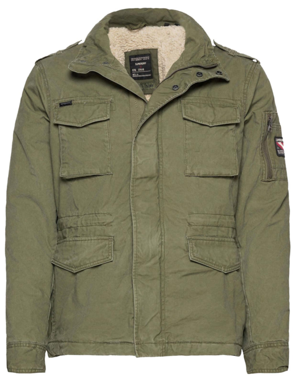Superdry Classic Rookie Jacket Khaki