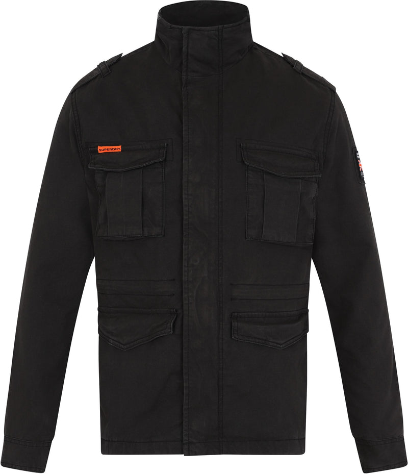 Superdry Classic Rookie Military Jacket Black