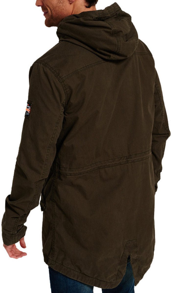 best website 9a343 cb1c2 Superdry Classic Rookie Military Parka Jacket