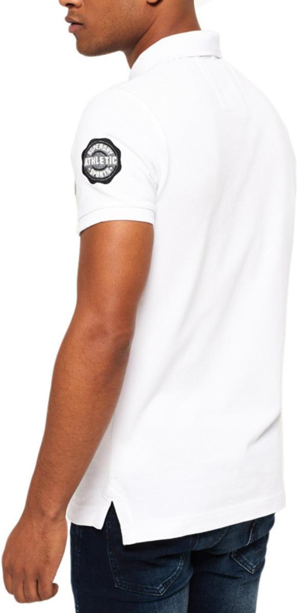 Superdry Classic Superstate Short Sleeve Polo Shirt White