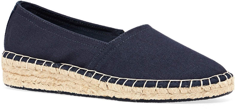 Superdry Classic Wedge Espadrille Shoes Navy