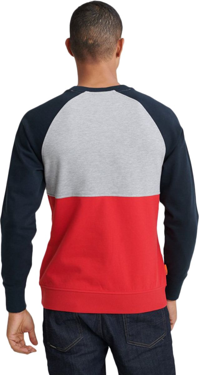 Superdry Collective Colour Block Sweatshirt Grey