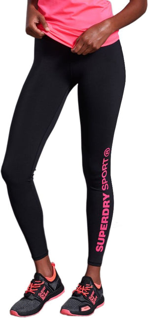 Superdry Core Essential Leggings Black