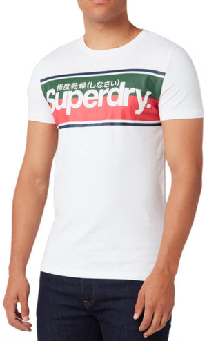 Superdry Core Logo Stripe T-Shirt	Optic