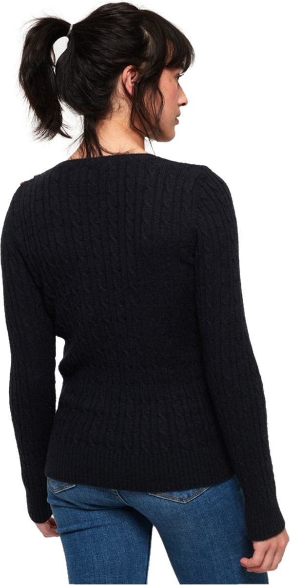 Superdry-Croyde-Cable-Knit-Jumper-Blue