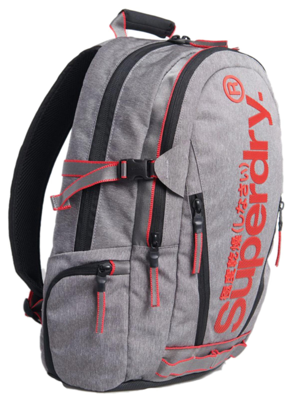 Superdry Detroit Classic Tarp Backpack Bag	Dark Marl