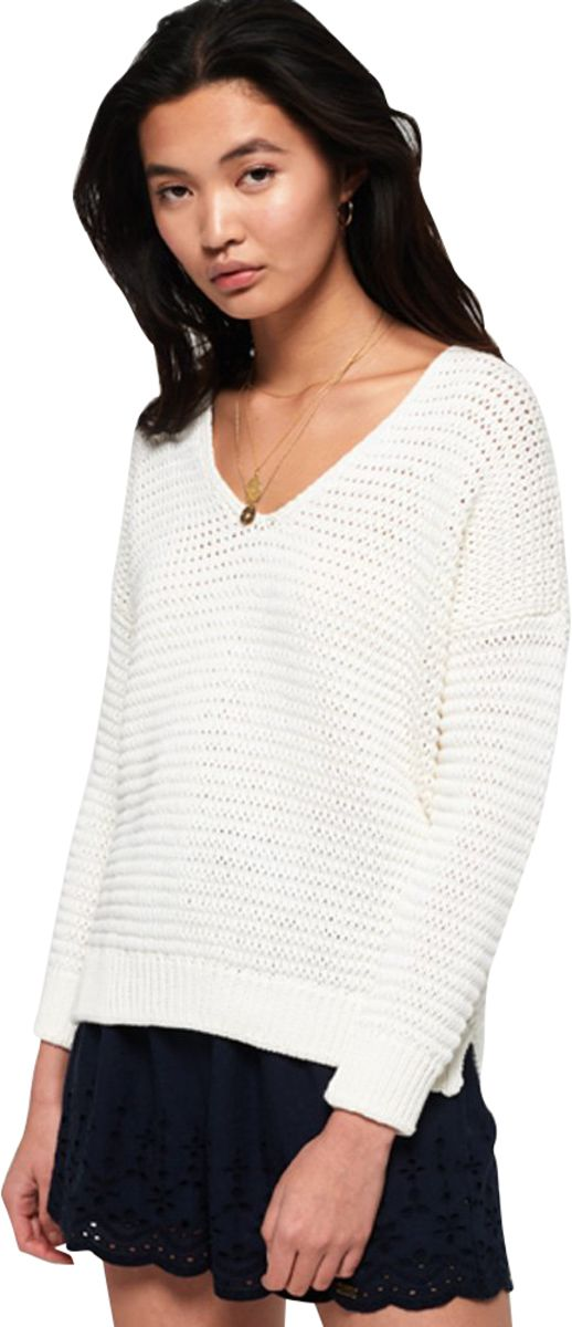 Superdry Eloise Textured Open Knit Jumper