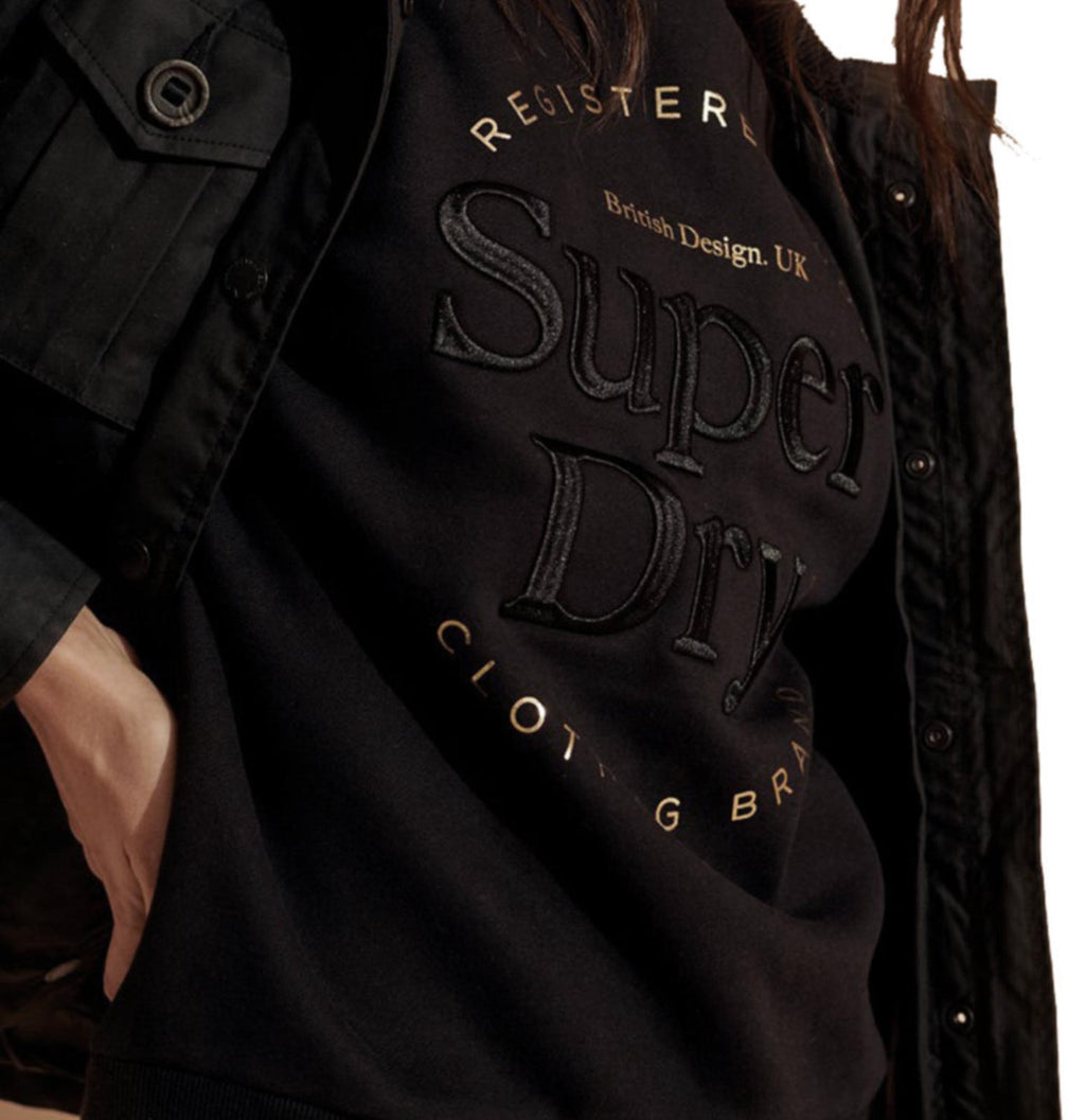 Superdry Established Sweatshirt Black