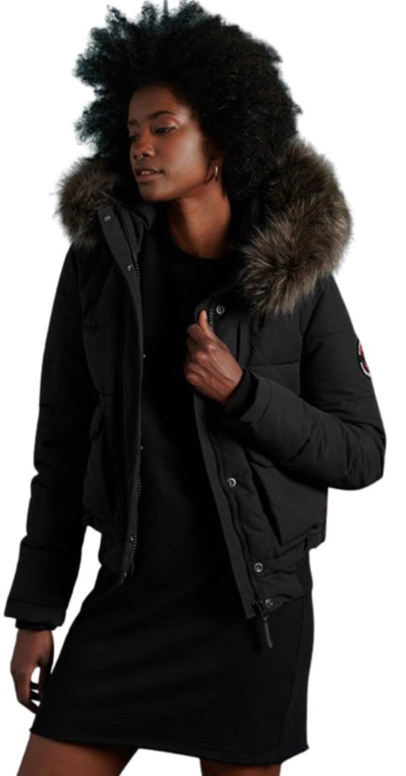 Superdry Everest Bomber Jacket Black
