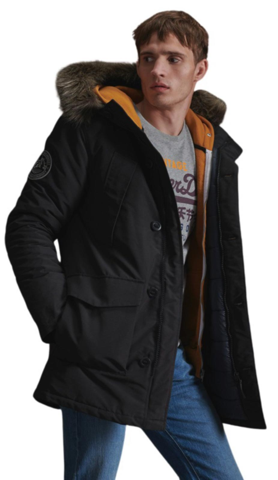 Superdry Everest Parka Jacket II Black