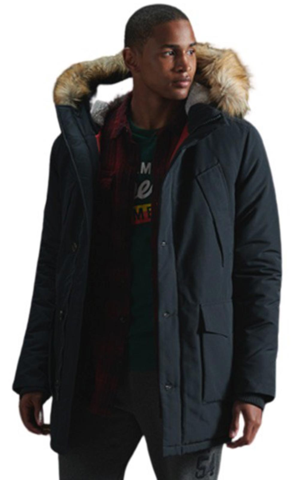 Superdry Everest Parka Jacket II Navy
