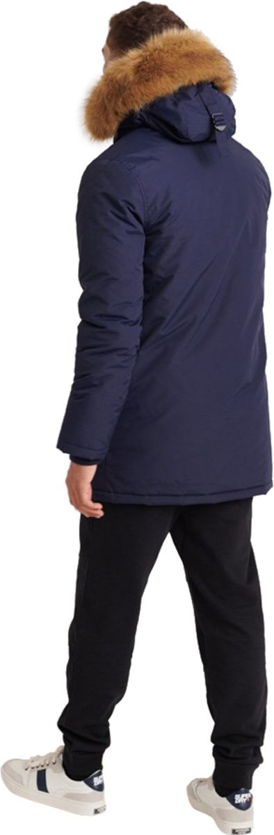 Superdry Everest Parka Jacket Blue