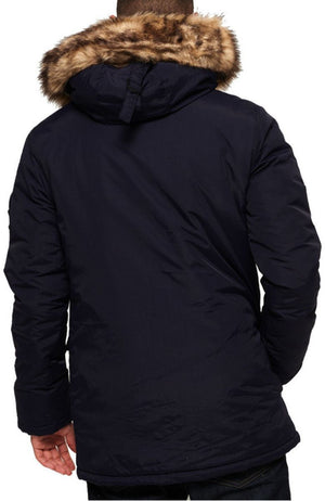 Superdry Everest Parka Jacket Navy
