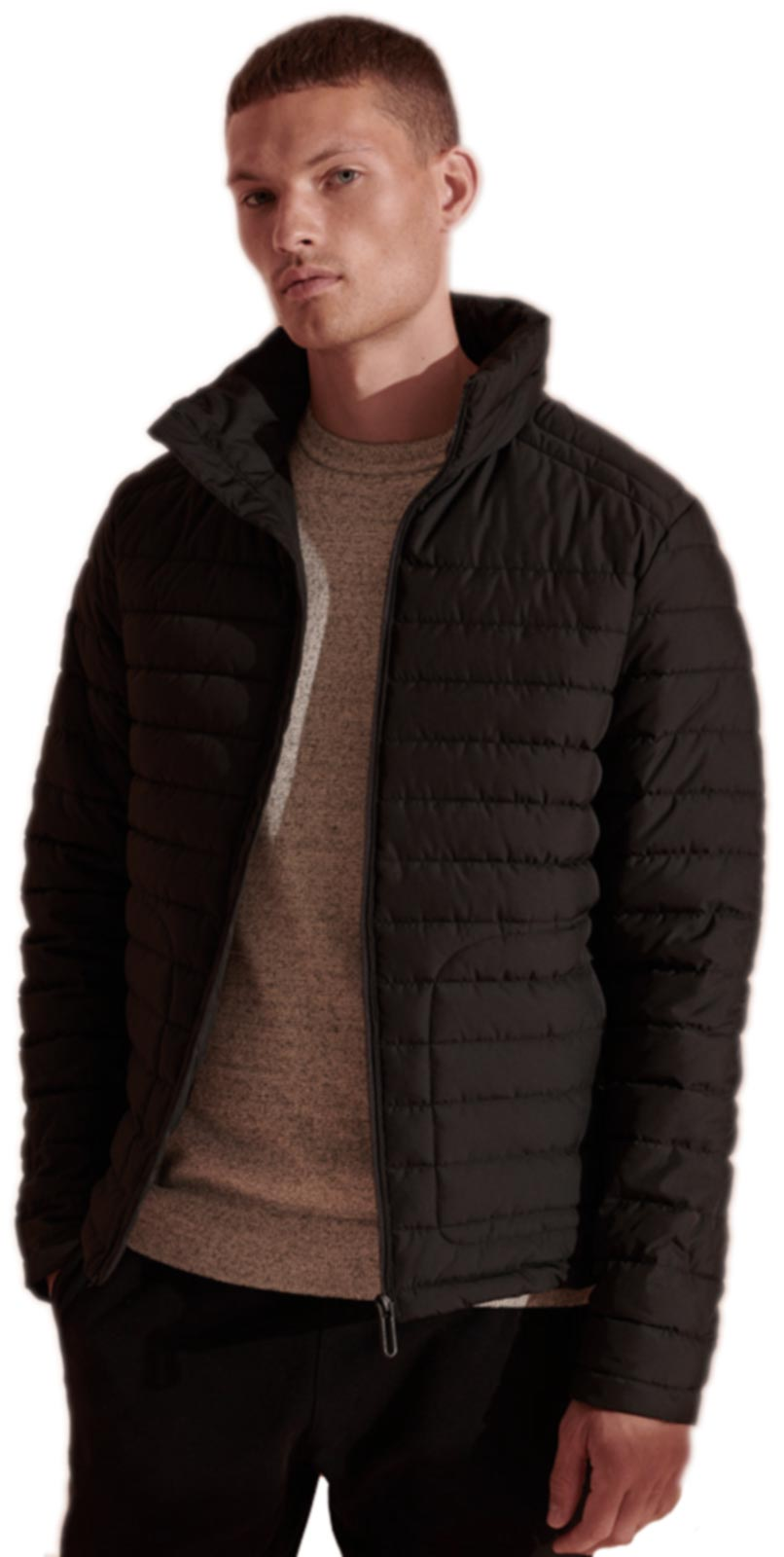 Superdry Fuji Padded Jacket Black