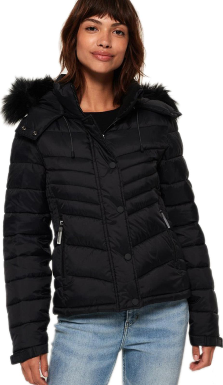 Superdry Fuji Slim 3 In 1 Jacket Black