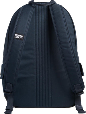 Superdry Glow In The Dark Montana Backpack Bag Navy