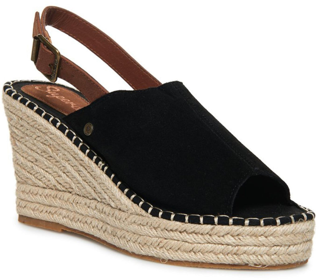 Superdry Grace Wedge Espadrilles Shoes