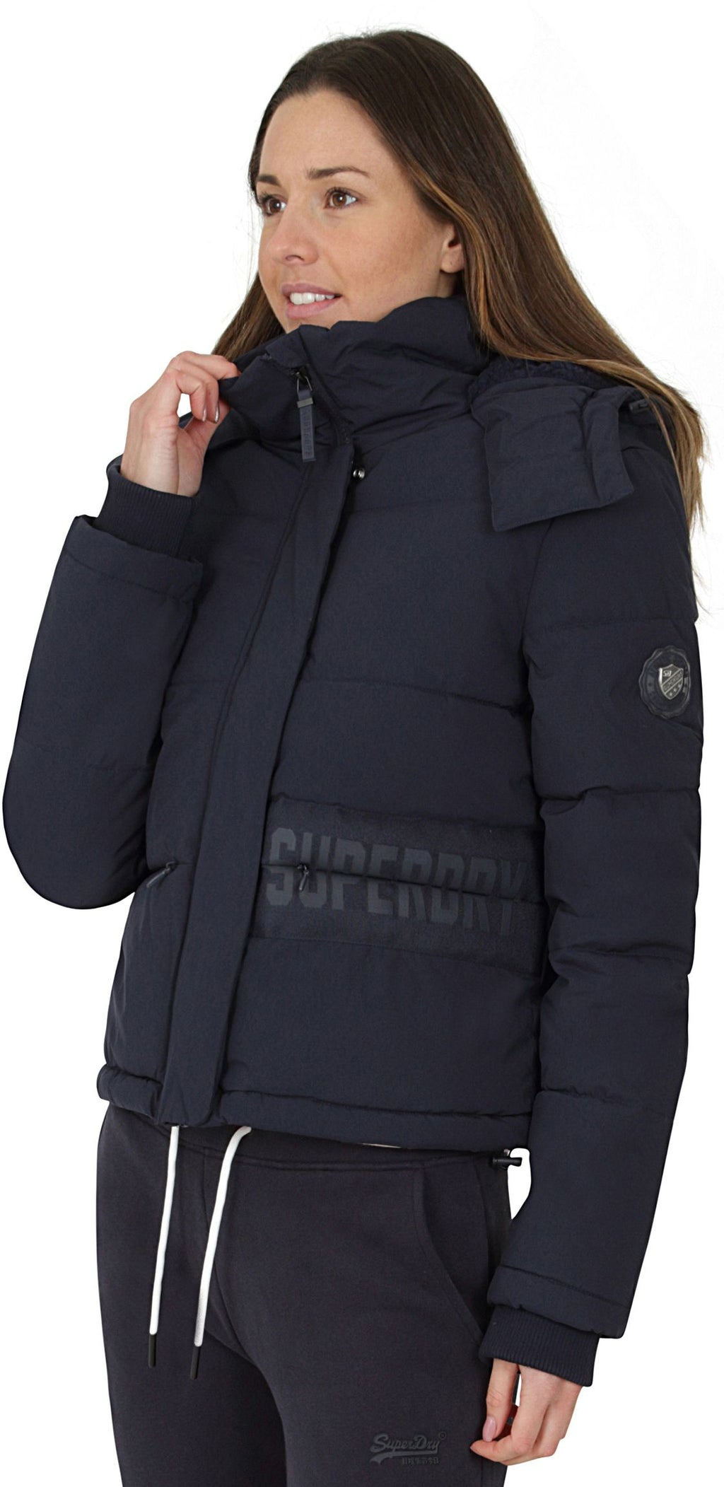 Superdry Heritage Padded Jacket French Navy