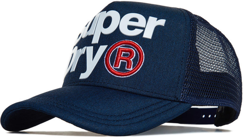 Superdry High Build Lineman Trucker Cap