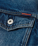 Superdry Highwayman Trucker Denim Jacket Blue