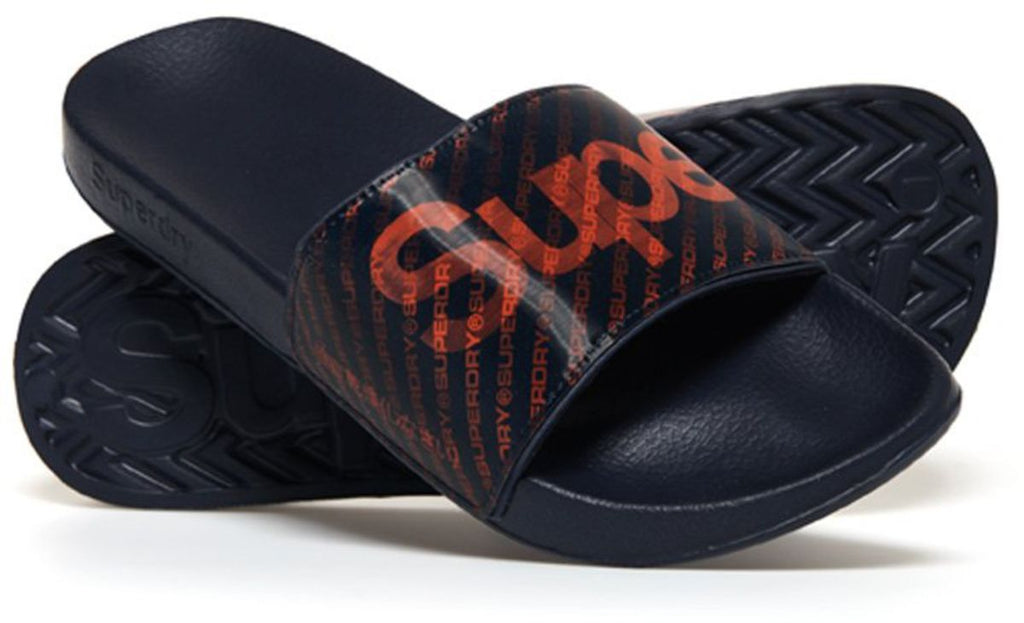 Superdry Holographic Pool Sliders
