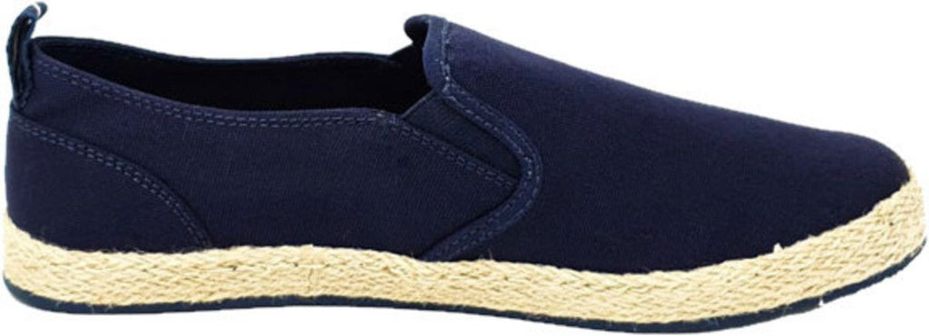 Superdry Hybrid Slip On Classic Espadrille Shoes Blue