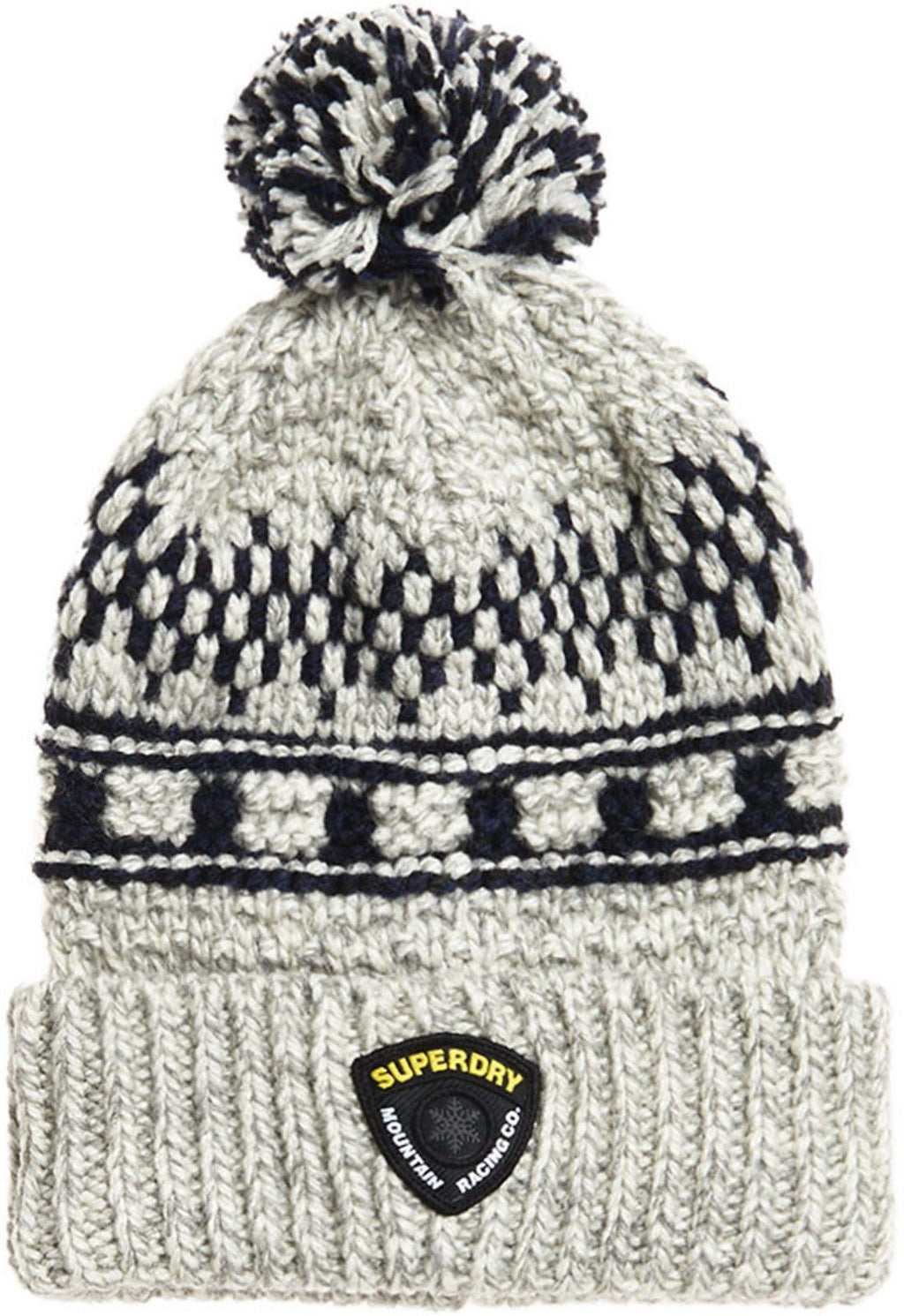 Superdry Jackson Beanie Hat Concrete Twist