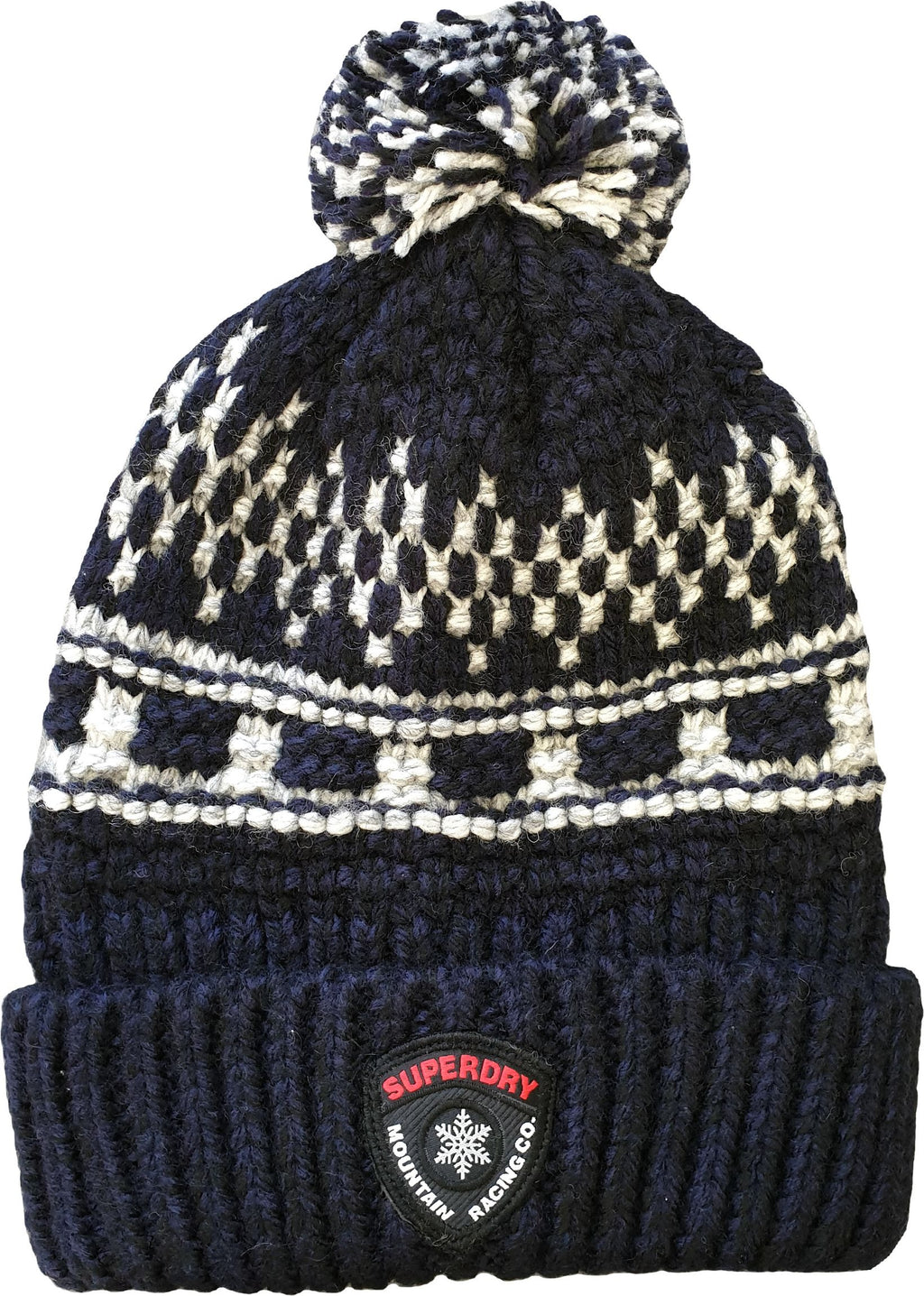 Superdry Jackson Beanie Hat Dark Navy