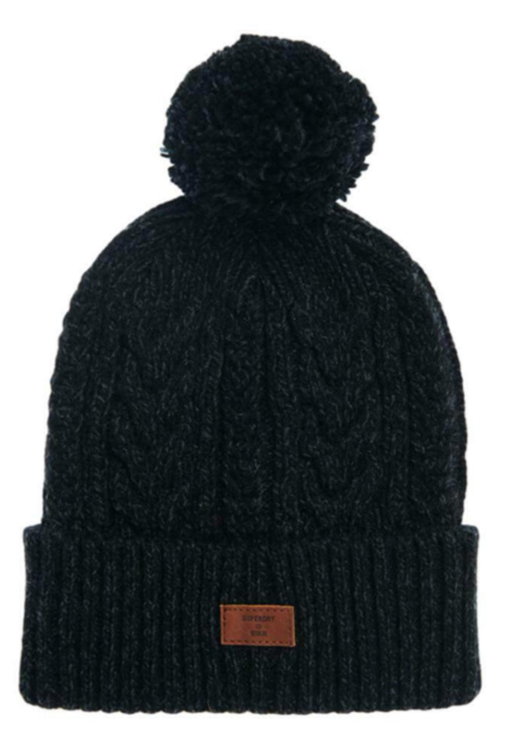 Superdry Jacob Beanie Hat Black