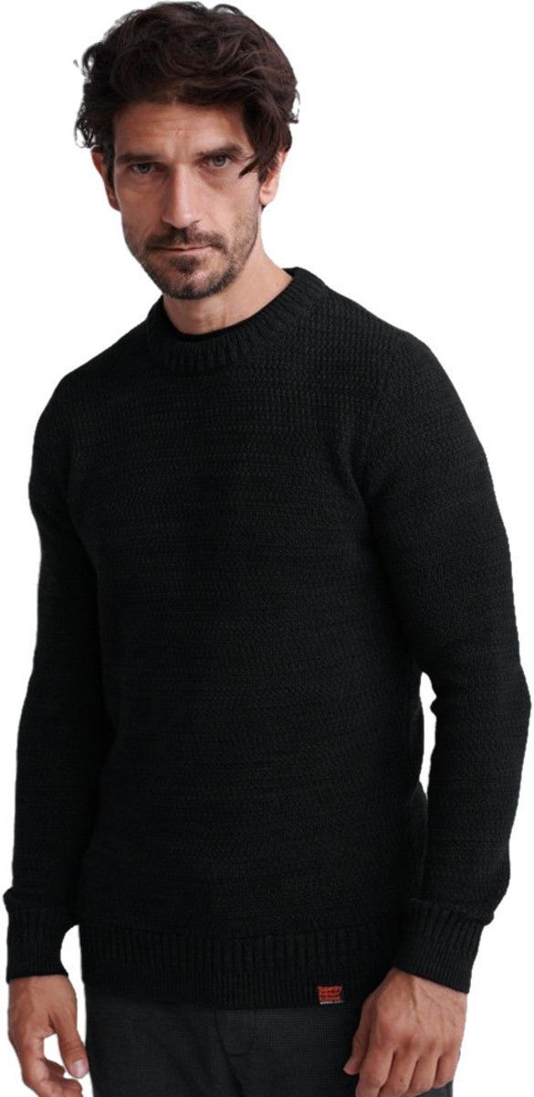 Superdry Keystone Knit Jumper Black
