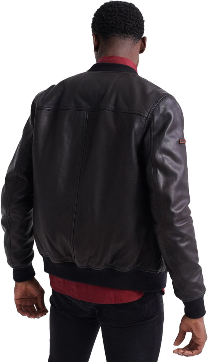 Superdry-Leather-Flight-Bomber-Jacket-Black