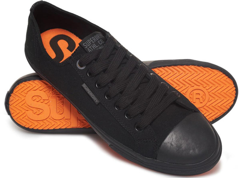 Superdry Low Pro II Trainers Black