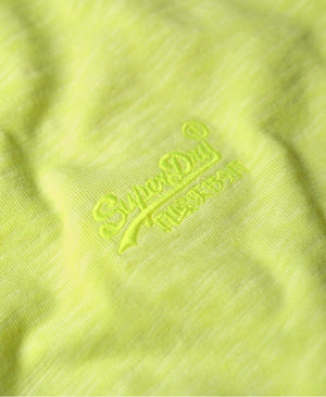 Superdry Low Roller T-Shirt Yellow