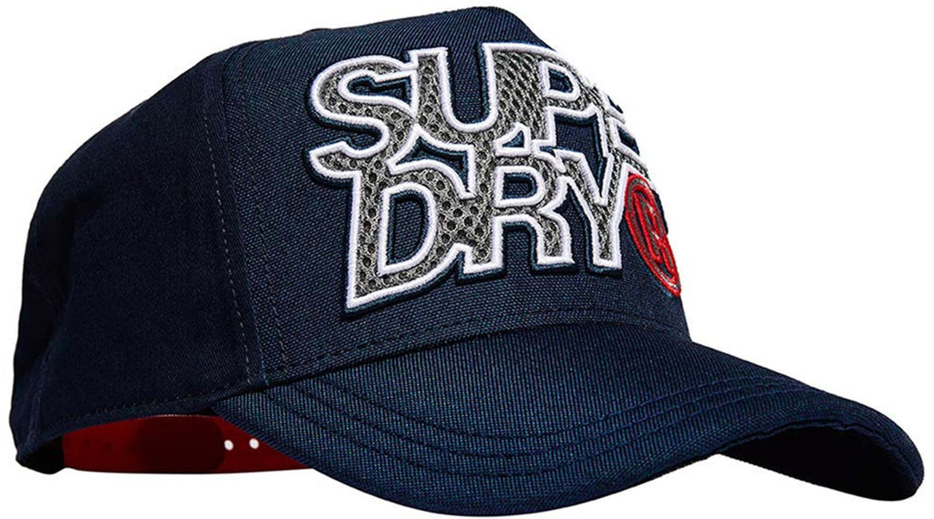 Superdry Mesh Lineman Trucker Cap Navy