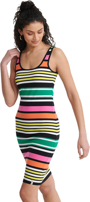 Superdry Miami Bodycon Dress Multi