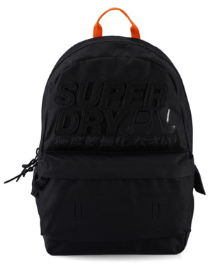 Superdry Montauk Montana Backpack Bag Black