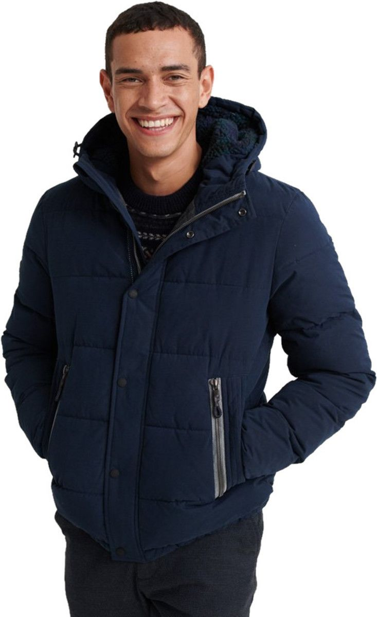 Superdry New Academy Padded Jacket Deep Navy