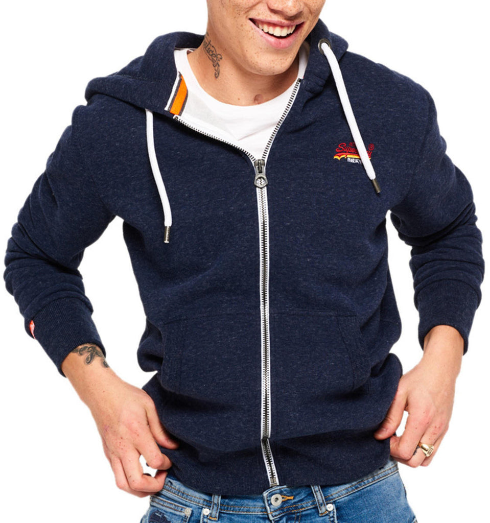 Superdry Orange Label Cali Zip Sweat Hoodie