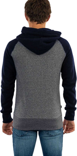 Superdry Orange Label Classic Raglan Zip Hoodie	Rich Navy Mega Grit