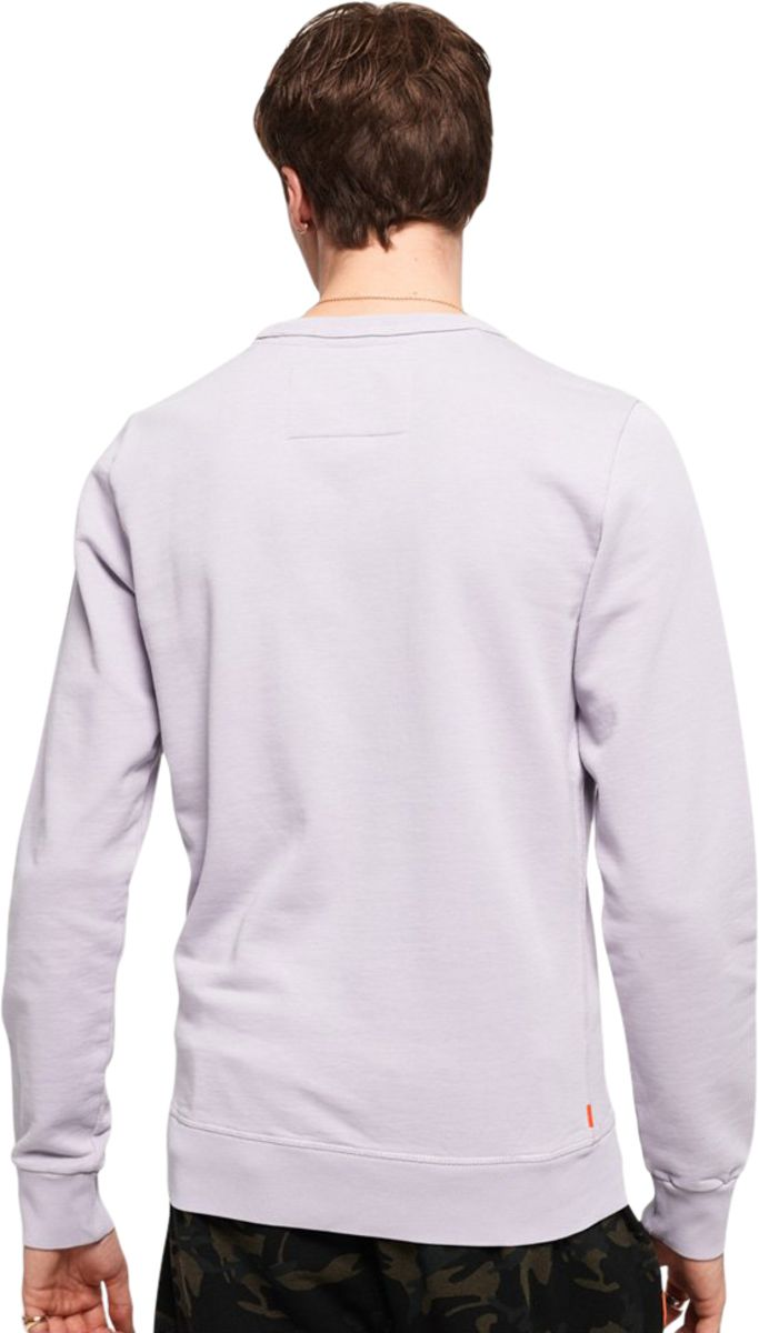 Superdry Orange Label Pastel Line Sweatshirt
