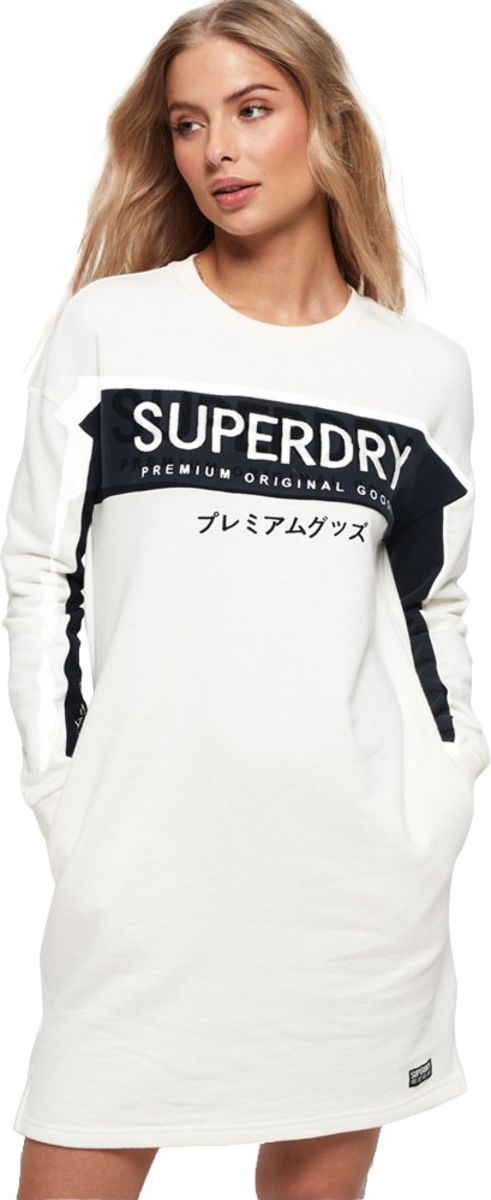 Superdry Panel Graphic Jumper Dress