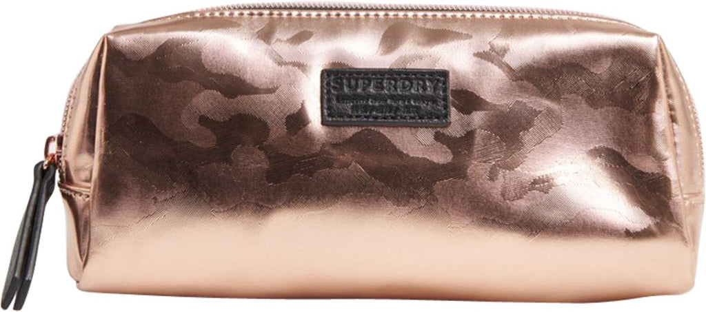 Superdry Pencil Case Gold