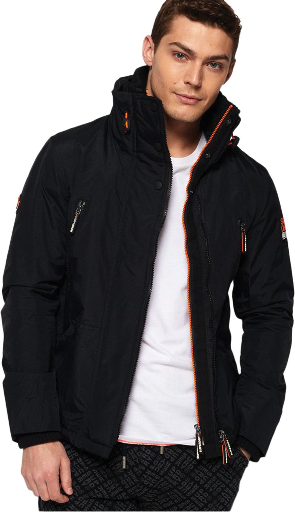 Superdry Polar SD-Windattacker Jacket Black