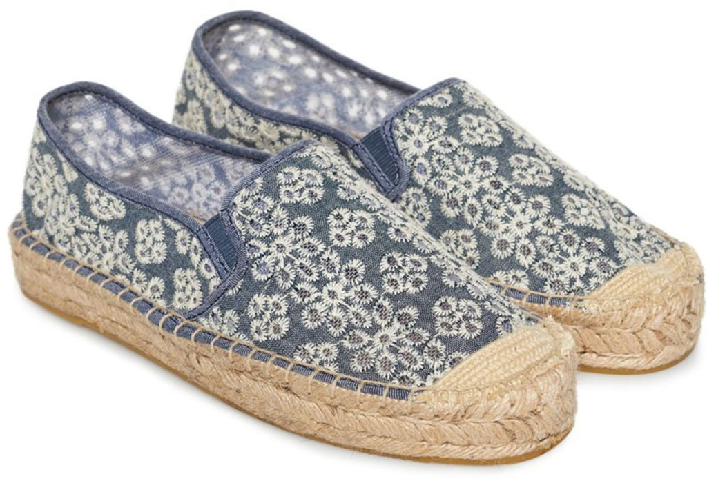Superdry Polly Flatform Espadrille Shoes